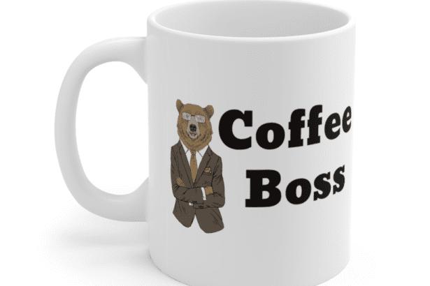 Coffee Boss – White 11oz Ceramic Coffee Mug (4)
