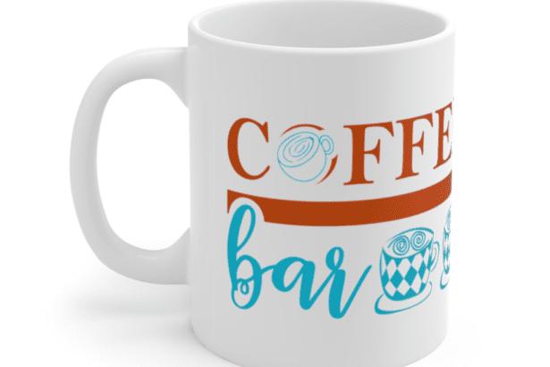 Coffee Bar – White 11oz Ceramic Coffee Mug (2)