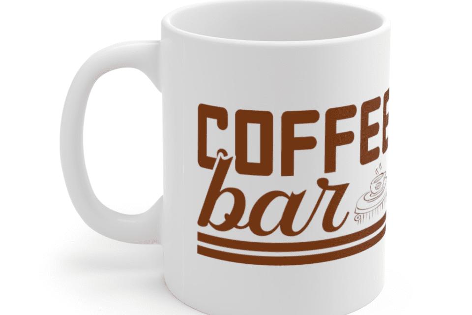 Coffee Bar – White 11oz Ceramic Coffee Mug (3)