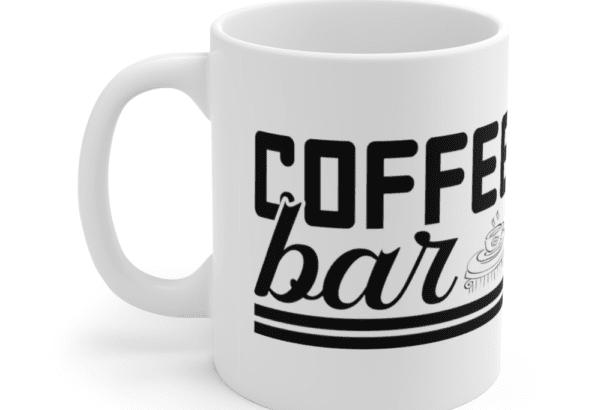 Coffee Bar – White 11oz Ceramic Coffee Mug (4)