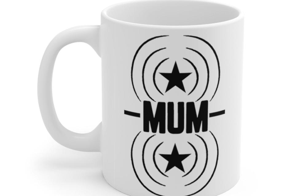 Mum – White 11oz Ceramic Coffee Mug (2)